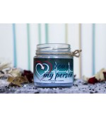 "Candle ""You are my person"""