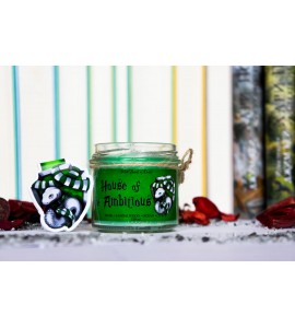 House of the Ambitious - Set of Magnetic Bookmark and Candle