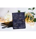 "Book Sleeve ""Dragon treasure - Sapphire Blue"""