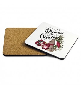 Dreaming of a white Christmas Coaster