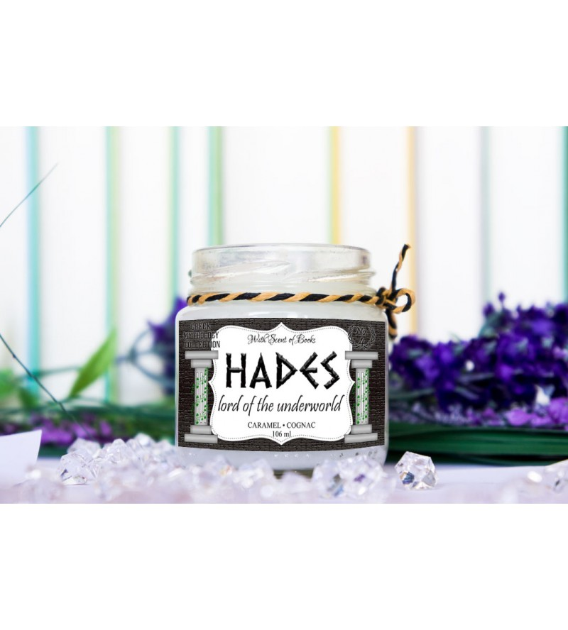 """Scented candle """"Hades"""""""