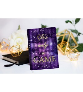 """Book Cover """"It's only a game"""""""