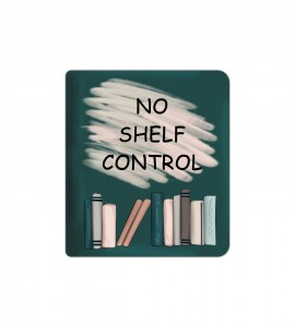 """Fabric cover """"No shelf control"""" for Kindle Oasis"""