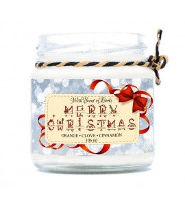 Scented candle Merry Christmas