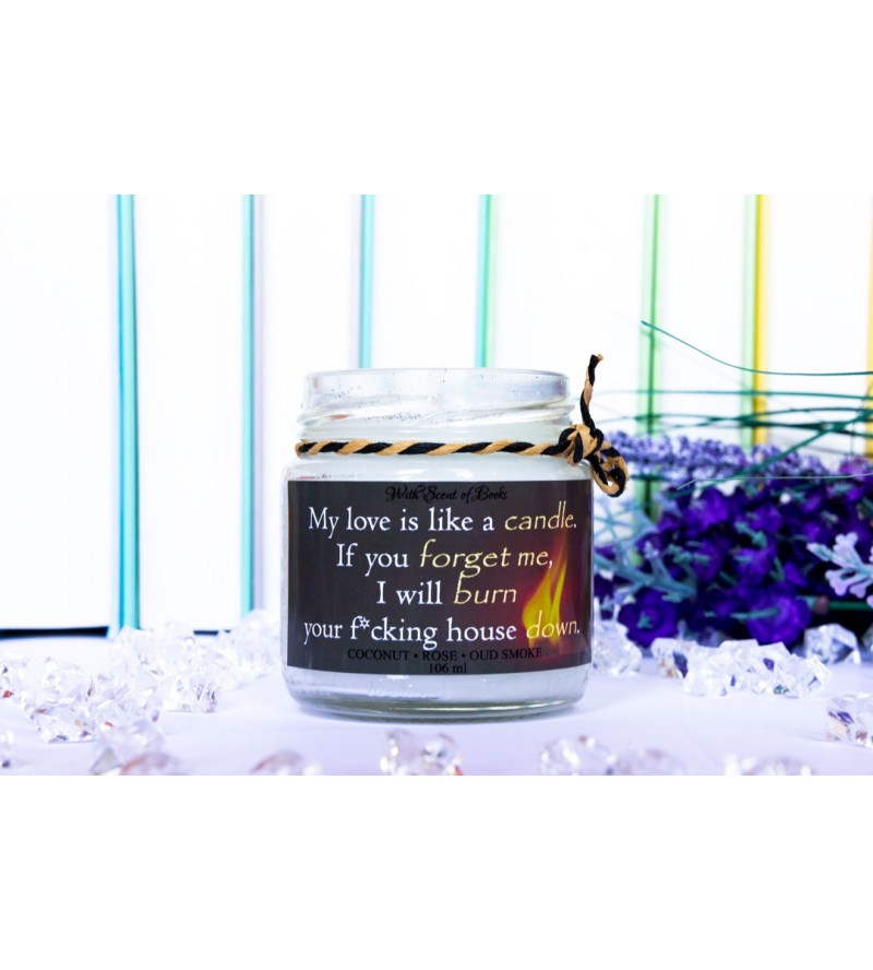 "Scented candle ""Like a candle"""