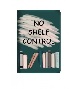 """Fabric cover """"No shelf control"""" for Kindle Paperwhite"""