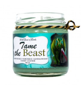 "Scented candle ""Tame the Beast"""