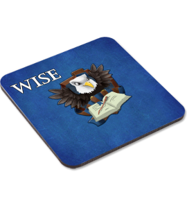 Wise Eagle Coaster